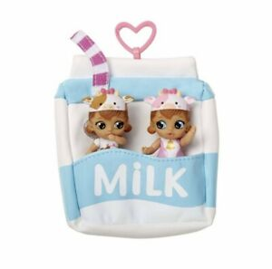 NEW! Baby Born Surprise Mini Babies Series 2 Milk Twins Sealed Dressed As Cows