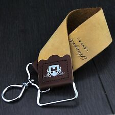 Haryali London Small Leather Hanging Strop - Stainless Steel Hook