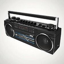 Cassette Boombox Black