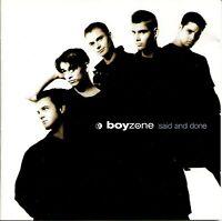 Boyzone-Said and Done CD