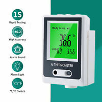 Termometro infrarossi senza contatto frontale con montaggio a parete automatico