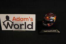 Spark Helmet Max Verstappen (NED) 1:8 French Grand Prix 2018 (AK)