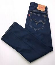 K306 Levi's TYPE 1 REAL LOOSE Straight Leg Stretch Jeans sz 34x32  Measures True