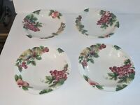 ROYAL DOULTON Everyday VINTAGE GRAPE - Set 4 ALL PURPOSE SOUP CEREAL BOWLS NEW