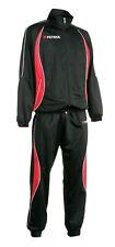 Abverkauf ! Trainingsanzug MALAGA 410 v. Patrick , schwarz /rot ,  Gr. L