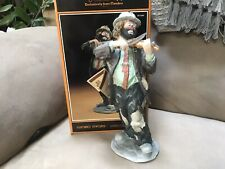 """Emmett Kelly Jr, Flambro, """"No Strings Attached"""" Full Size. With Box"""