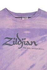 MENS XL VTG 90s Avedis Zildjian Cymbals T Shirt TIE DYE All Over Print Drummer