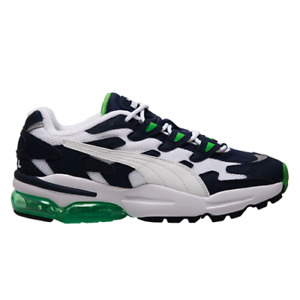 Puma Cell Alien OG Men's White Navy Green Low Athletic Lifestyle Sneakers Shoes