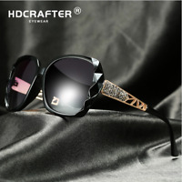 Women Polarized Sunglasses UV400 Outdoor Driving Party Retro Oversized Glasses