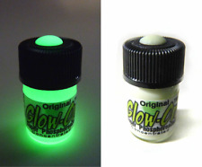 Glow-On ORIGINAL Glow Paint For Gun Sights, Fishing Lures 2.3 ml  Vial. Bright!