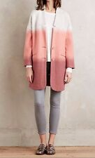 Anthropologie by Hoss Intropia Women's  Blushed Colorblock Coat Size Small