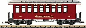 LGB G SCALE D&S PASS CAR YANKEE GIRL (SHIPS IN 1 BUS DAY)  | 36808