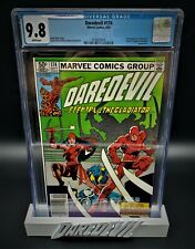 Daredevil 174 9/81 Marvel Comics 9.8 CGC Graded Comic Books