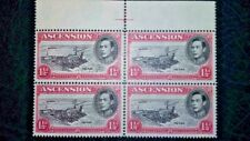 ASCENSION ISLAND SG40d R2/4 Proving Example WITHOUT buoy FLAW MNH - See desc..
