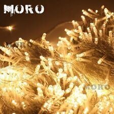 100M LED String Fairy Christmas Lights Party Wedding Garden Decoration 8 Modes