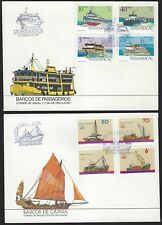 BRITISH COMM 1970s 80 SHIPS SHIPS & MORE SHIPS ON COVERS & FDC ALL ILLUSTRATED