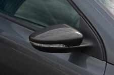 Carbon Fibre Wing Mirror Trim Set Covers To Fit Volkswagen Passat CC (2008-16)