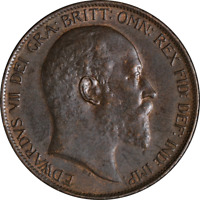 Great Britain Penny 1903 KM #794.2 AU
