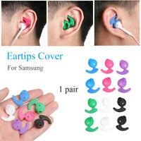 1pair Eartips For Samsung Level U EO-BG920 Silicone Earphone Ear Tips Earbud