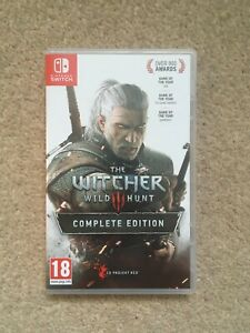The Witcher 3 Complete Edition (Nintendo Switch) Mint
