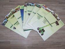 Lot de 10 Prospectus/Brochure/Prospekt agricoles/tracteurs MERLO (476)