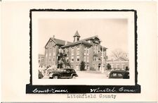 Litchfield County Court House in Winsted CT RP Postcard