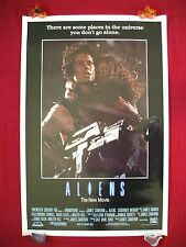 ALIENS *1986 ORIGINAL MOVIE POSTER ENGLISH INT'L ONE SHEET RARE ROLLED HALLOWEEN