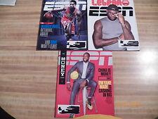 ESPN Magazines Derrick Rose Dewayne Wade Lebron James NBA basketball players