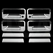 FOR CHEVY CHEVROLET TAHOE 1995-1999 CHROME 4 DOOR HANDLE COVERS W/ PSG KH 95-99