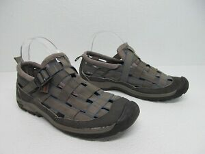 Chaco Paradox Gunmetal Fisherman Sport Weave Sandals Size Men's 10