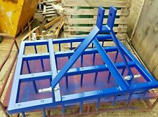 More details for 5 ft. drag harrow tines 3 point linkage farm paddock aerator equestrian heavy
