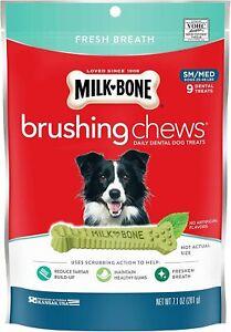 Milk-Bone Brushing Chews For Small/Medium Dogs 7.1 oz Bag