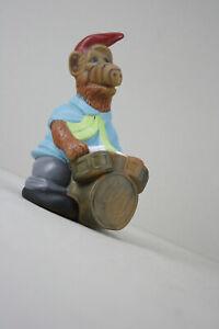 vintage ALF Hundespielzeug Quietschie Drummer 80er Jahre