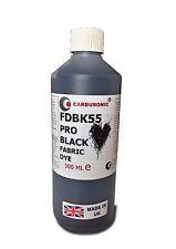 Liquid Fabric Dye Black, Clothes, Denim, Handbags,Spray, Dip,  Batik 500 ml