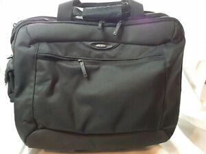 "Targus  XL Rolling Luggage  17"" Travel Laptop Bag Carry On TXL717  *9035*  !"