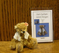 "DEB CANHAM Artist Designs ISABELLE, Various Bears COLL. LE 3.75"" jointed mohair"