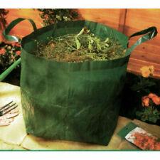 Jumbo Waterproof Garden Waste Refuse Bag Strong Heavy Duty Handles 48x41x48cm*