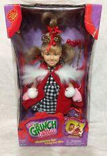 Dr. Seuss How The GRINCH Stole Christmas Cindy Lou Who DollWhobilation Hair NIB
