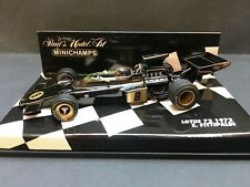 Minichamps - Emmerson Fittipaldi - Lotus - 72 - 1:43 - 1972 - World champion