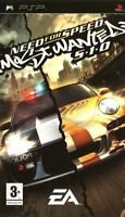 Need For Speed Most Wanted 5-1-0 : NFS Sony PSP PlayStation Portable PAL Game