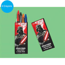 Star Wars Party Supplies Favours CRAYONS BOX Genuine Licensed
