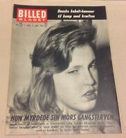 Cheryl Christina Crane Lana Turner Daughter Stabbing Magazine Billed-Bladet 1958