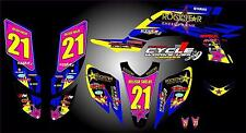 Yamaha YFZ 450 04-09  SEMI CUSTOM GRAPHICS KIT Shields