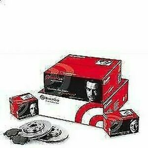 Super Set Discs + Brake Pads Front And Rear Brembo For AUDIA3 (8P1) 2.0TDI