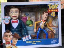 DISNEY PIXAR Toy Story 4 Benson and Woody 2 Pack. Sneak Peek: NiB NEW