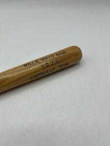 """Vintage 1976 Willie Mays AABC Mini Bat 16"""" Knoxville TENN Louisville Slugger"""