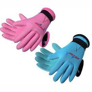 3mm Kids Swimming Diving Wetsuit Gloves Children Neoprene Scuba Water Sports