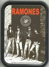 RAMONES rocket 2 russia 2005 oblong STASH TIN usa IMPORT no longer made OFFICIAL