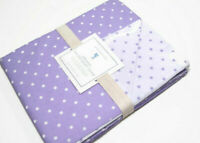 Pottery Barn Kids Organic Cotton Lavender Purple Pin Dot Twin Duvet Cover New