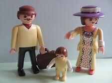 PLAYMOBIL @@ PERSONNAGES FAMILLE @@ MAISON VICTORIENNE 1900 @@ A 22